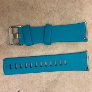 Blue Fitbit Versa band